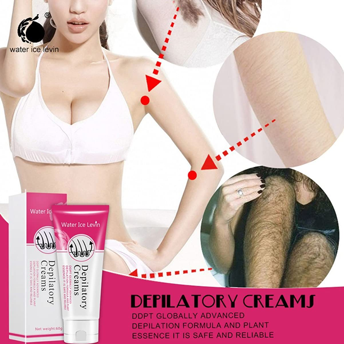 ピーブ全体に仕えるSakuraBest Painless Depilatory Cream for Legs Armpit Hair Removal