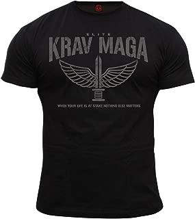 Dirty Ray Martial Arts Krav MAGA Elite Men's T-Shirt DT36