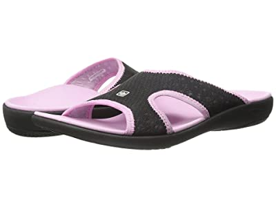 Spenco Kholo Breeze (Black/Pink) Women
