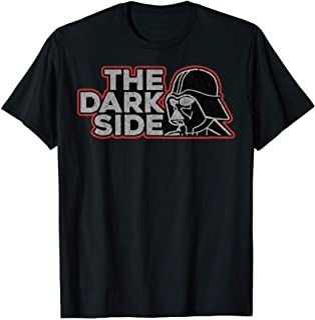 Star Wars Darth Vader Dark Side Pocket Logo T-Shirt