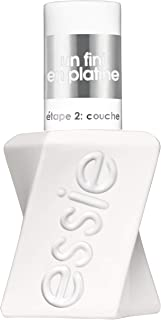 essie Gel Couture Longwear Gel-like Shine Nail Polish Top Coat, Clear, 13.5 ml