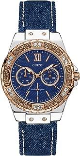 GUESS Women's U0775L10 Analog Display Japanese Quartz Blue Watch