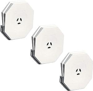 Builders Edge 130110006001 Surface Block 001, White (3-Pack)