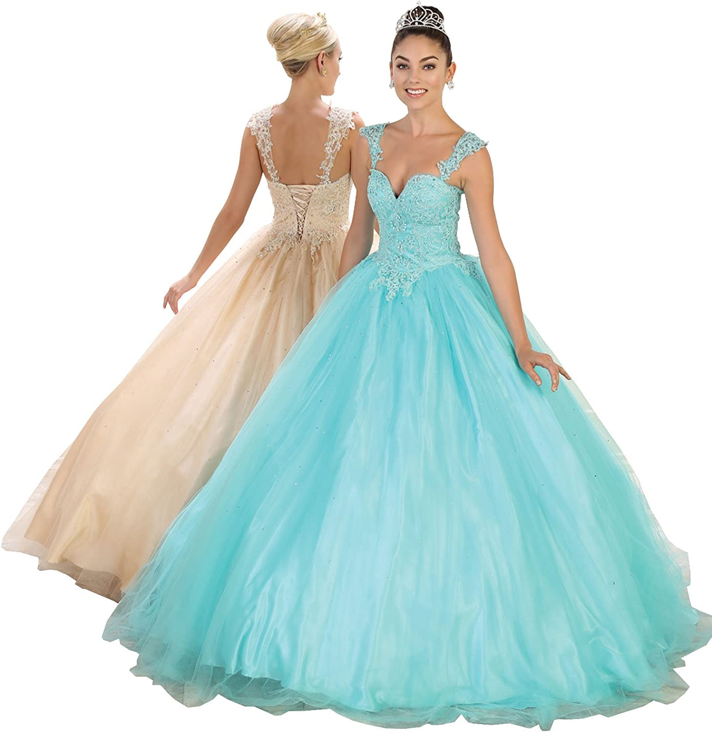 Layla K LK99 Masquerade Quinceanera Ball Gown