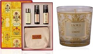 Kama Ayurveda Best Of Kama Ayurveda Gift Box With Natural Jasmine Candle