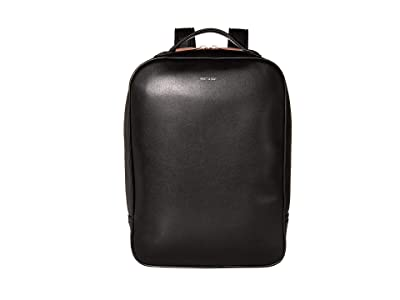 Matt & Nat Alex Loom (Black/Rose Gold) Backpack Bags