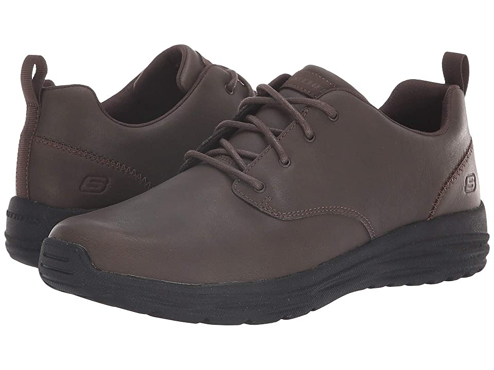 SKECHERS Harsen Rendo (Chocolate) Men