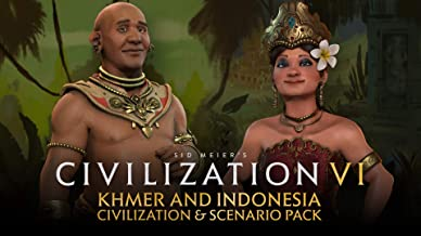 Civilization VI - Khmer and Indonesia Civilization & Scenario Pack - Nintendo Switch [Digital Code]