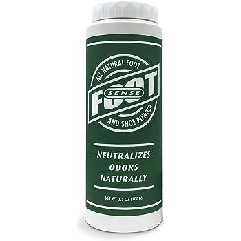 Natural Shoe Deodorizer Powder, Foot Odor Eliminator & Body Powder- for Smelly Shoes, Stinky Feet, Body Freshener. Use on Kids & Adults. Talc Free Formula