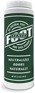 Natural Shoe Deodorizer Powder, Foot Odor Eliminator & Body Powder- for Smelly Shoes, Stinky Feet, Body Freshener. Use on ...