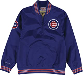 new concept f1667 d4155 Mitchell   Ness Chicago Cubs MLB Men s Slider 1 4 Zip Pullover Jacket