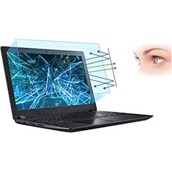 """FORITO 17.3"""" Laptop Anti Blue Light Anti Glare Screen Protector, 2-Pack Eye Protection Blue Light Blocking Screen Protector for 17.3"""" with 16:9 Aspect Ratio Laptop Screen(Size: 15"""" W x 8.5"""" H)"""