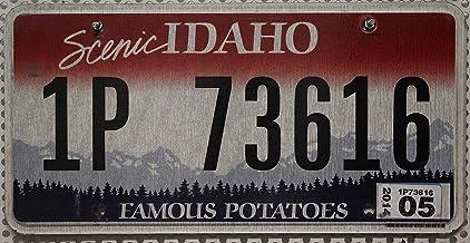 Suchergebnis Auf Für Us Nummernschild Idaho