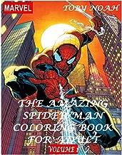 amazing spiderman colouring