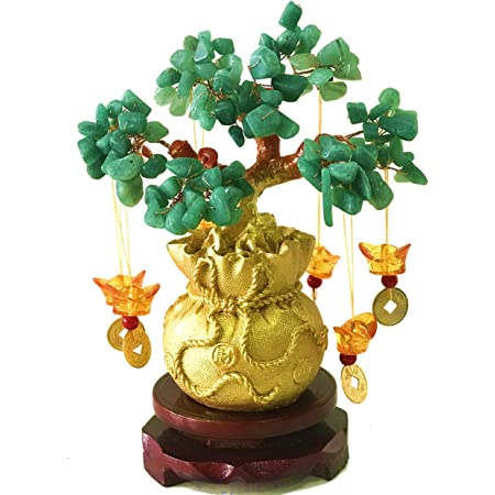 Colorful Pan source Crystal Money Tree Citrine Tree for Home Decorative Feng Shui Artificial Tree
