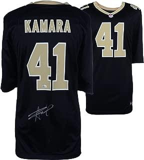 Alvin Kamara New Orleans Saints Autographed Nike Black Game Jersey - Fanatics Authentic Certified - Autographed NFL Jerseys