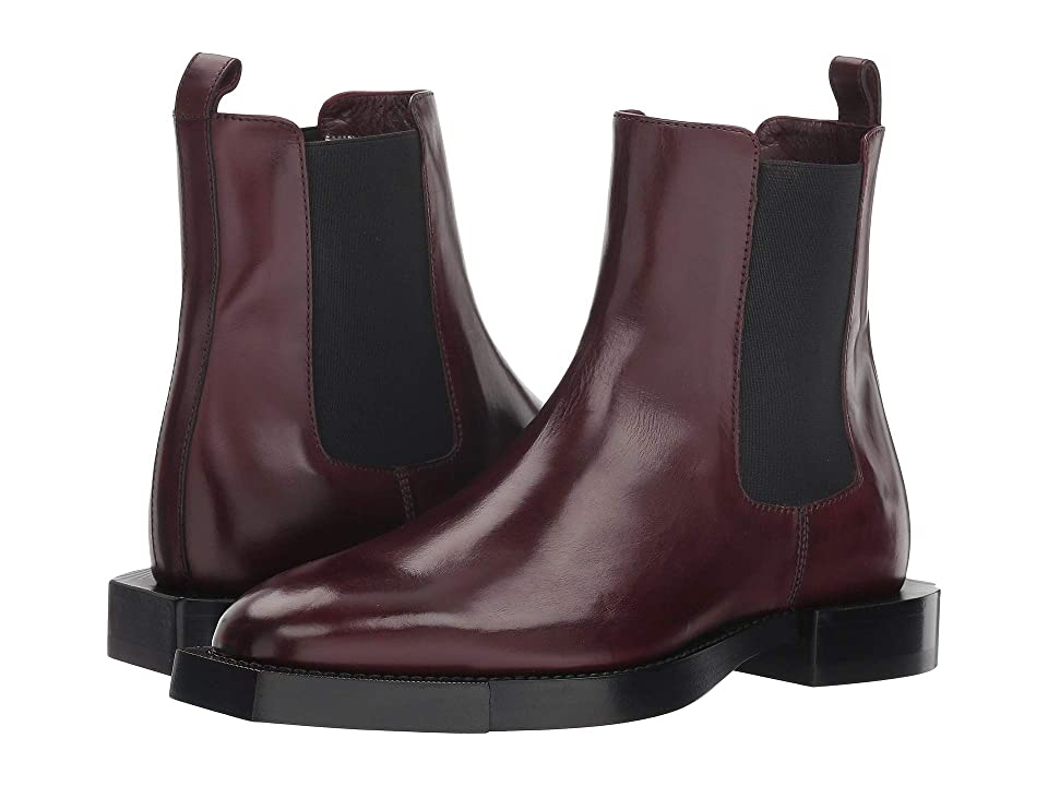 Alexander McQueen Mod Boot (Carmine/Black) Women