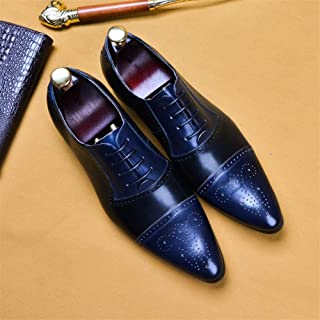 Brock High-end Leather Men's Gentleman Leather Shoes, Heightening, Shock Absorption, Breathable, Wear-resistant, Non-slip