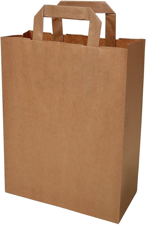 250 250 250 Papiertragetaschen in braun 3212x42 cm - good4food B06WW77MY4 | Günstige Preise  a80e61