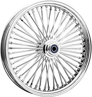 Ride Wright Wheels Inc Omega Chrome 50 Spoke 16x3.5 Rear Wheel, Color: Chrome, Position: Rear, Rim Size: 16 04635-75-99-OM-T