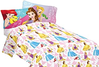 Disney Bedazzling Princess Sheet Set Full