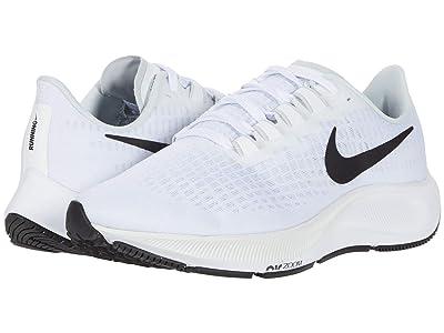 Nike Air Zoom Pegasus 37 (White/Black/Pure Platinum) Men