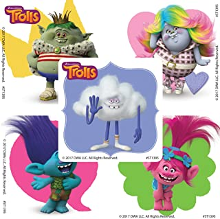 SmileMakers DreamWorks Trolls Friends Stickers - Prizes 100 per Pack - from