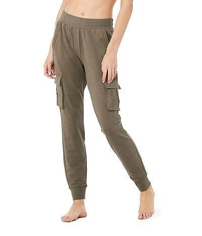 ALO Unwind Cargo Pants (Olive Branch) Women