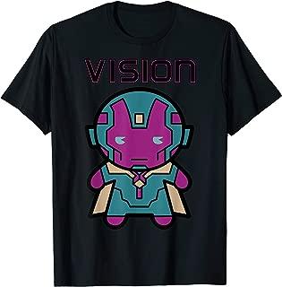 Vision Kawaii Cute Profile Avenger Graphic T-Shirt