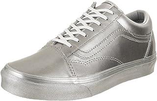 Vans Old Skool Sneaker Size 55 M Lurex Glitter Gold