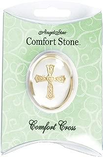 AngelStar 1-1/2-Inch Angel Worry Stone, Comfort Cross
