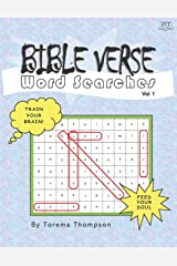 Bible Verse Word Searches: Volume 1 (Pura Kids Activities) Paperback