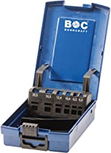 Bohrcraft 51210301200 HM-Fr/ässtift Form E Tropfen TiALN 12,0 mm//Kreuzverzahnung in BC Verp.