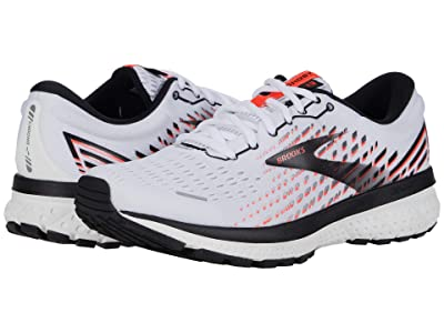 Brooks Ghost 13 (White/Pink/Black) Women