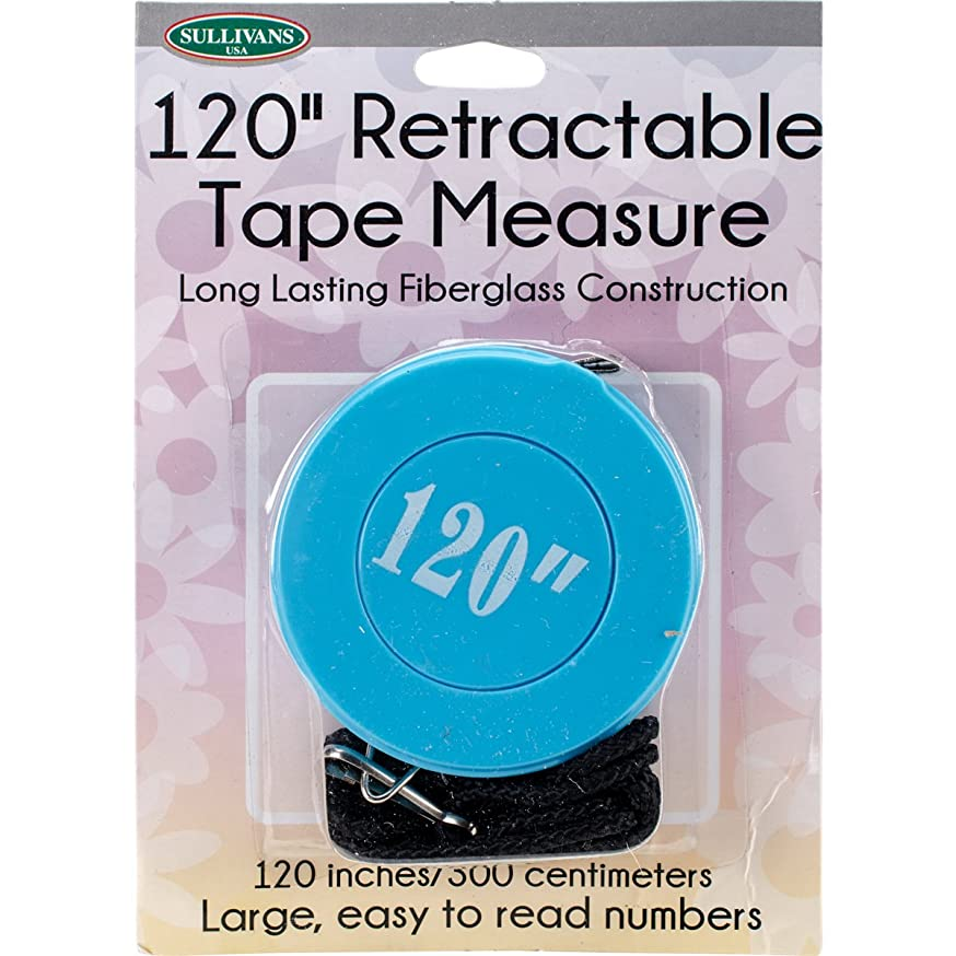 Sullivans 37269 Retractable Tape Measure, 120