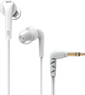 MEE Audio RX18 Comfort-Fit in-Ear Headphones with Enhanced Bass (White)