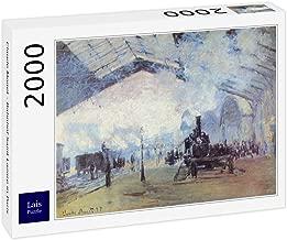 Lais Puzzle Claude Monet - estación de Tren Saint Lazare en París 2000 Piezas