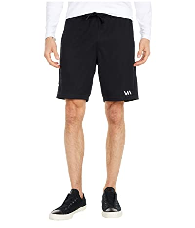 RVCA VA Sport Mesh Shorts (Black) Men
