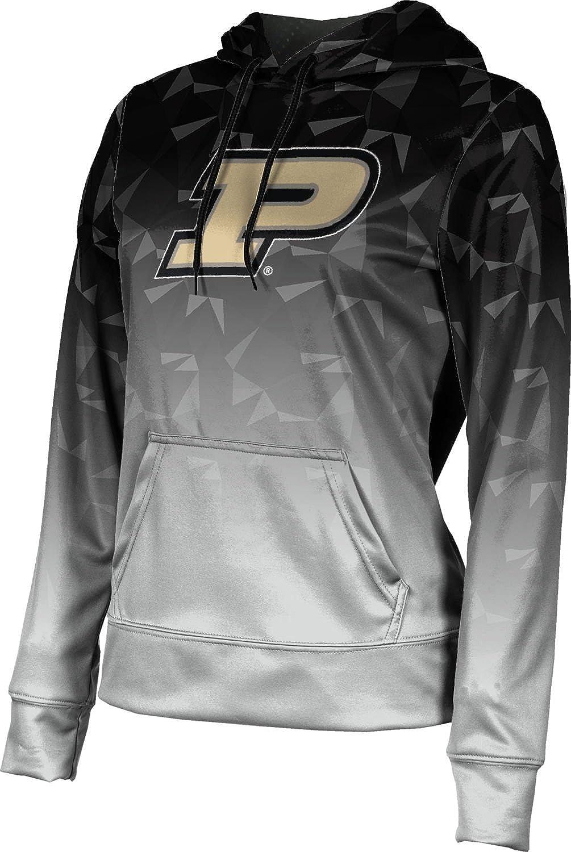 ProSphere Purdue University Girls' Pullover Hoodie, School Spirit Sweatshirt (Maya) F9BE2 Black and Light Gray
