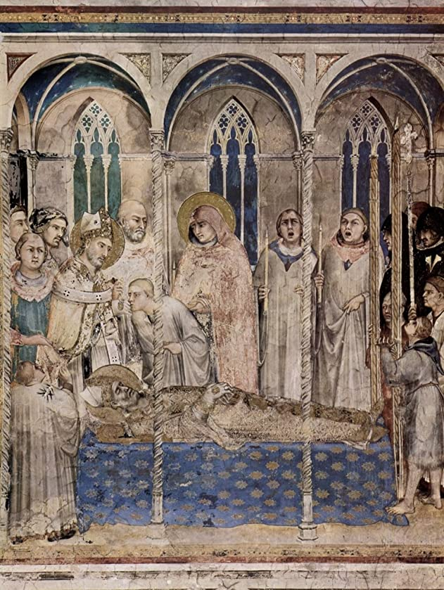 Lais Jigsaw Simone Martini - Fresco Cycle with Scenes from The Life of St. Martin of Tours, Chapel in The Lower Church of San Francesco in Assisi, Scene: The Funeral of St. Martin 200 Pieces