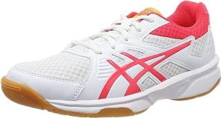 : Blanc Chaussures Squash : Sports et Loisirs