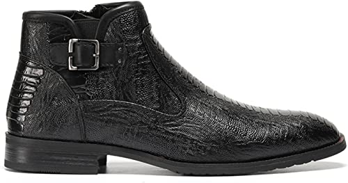FSAFFF 39-48 39-48 39-48 Brand Hommes bottes Handsome Comfortable Retro Leather Spring bottes a41