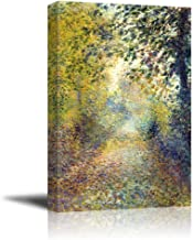 wall26 - in The Woods by Pierre-Auguste Renoir - Canvas Print Wall Art Famous Painting Reproduction - 24
