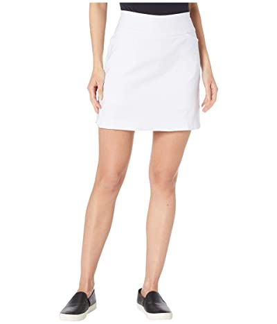 Tribal Pull-On Skort (White) Women