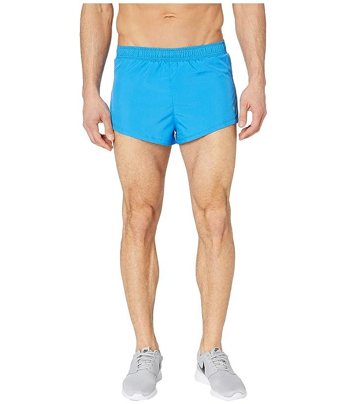 Nike Fast Shorts 2 (Light Photo Blue/Reflective Silver) Men