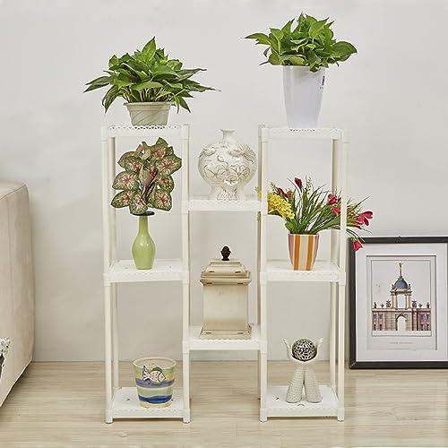 WANGXIAOLIN Fleur Stand Plancher Pot Rack Multi-Couche Intérieur Et Extérieur Européenne Fleur Rack Salon Balcon Vert Fleur étagère