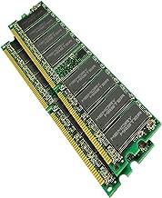 Memory Master 2 GB (2 x 1 GB) DDR 400MHz PC3200 Desktop DIMM Memory Modules (MMD2048KD1-400)