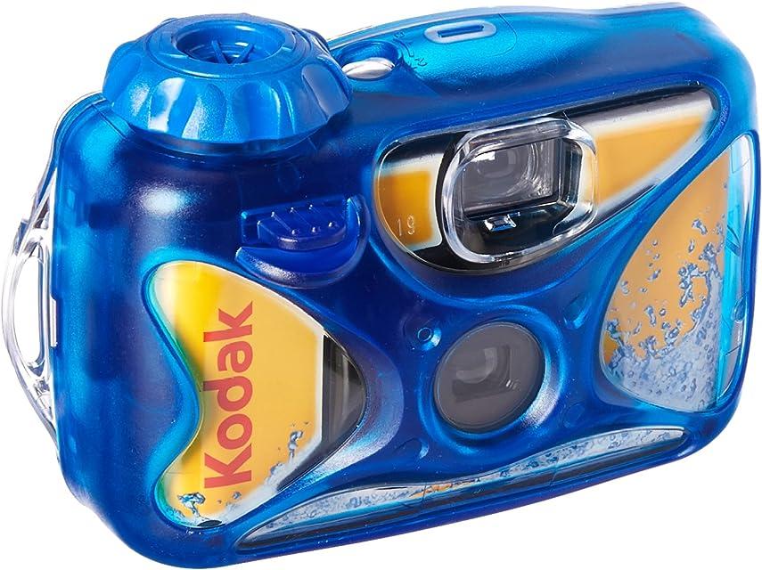 Kodak Water Sport 27 Exp - Cámara acuática desechable (hasta 15 Metros ISO 800) Azul