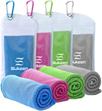 """[4 Pack] Cooling Towel (40""""x12""""),Ice Towel,Soft Breathable Chilly.."""