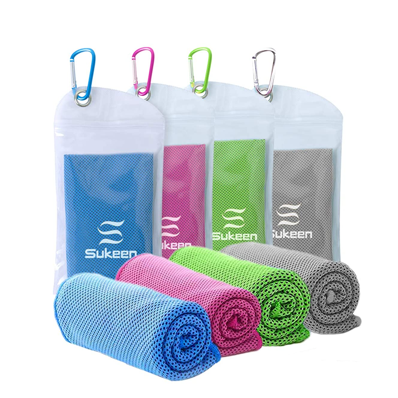 [4 Pack] Cooling Towel (40